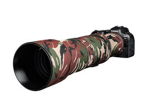 easyCover Lens Oak Canon RF 800mm F11 IS STM green camouflage